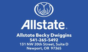 Allstate Becky Dwiggins Blue
